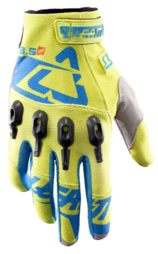 2017 Leatt Glove GPX 3.5 Lite -Lime/Blue