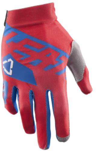 2017 Leatt GPX 2.5 X-Flow Glove - Red/Blue