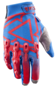 2017 Leatt GPX 4.5 Lite Gloves - Red Blue