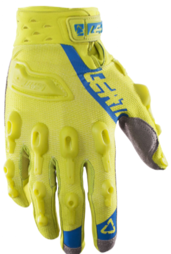 2017 Leatt GPX 5.5 Lite Glove - Lime/Blue