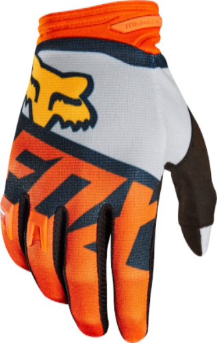 2018 Fox Dirtpaw Sayak MX Glove - Orange