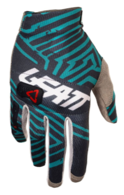 2018 Leatt 3.5 Motocross Glove - Grey/Teal