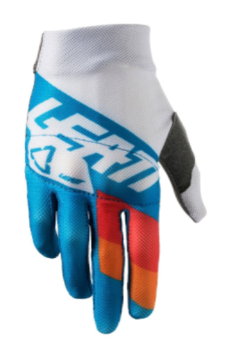 2018 Leatt 3.5 Youth Motocross Gloves - Blue/White