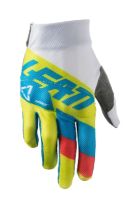 2018 Leatt 3.5 Youth Motocross Gloves - Lime/White