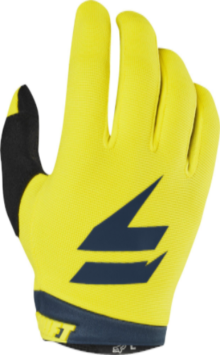 2019 Whit3 Air Motocross Glove - Yellow