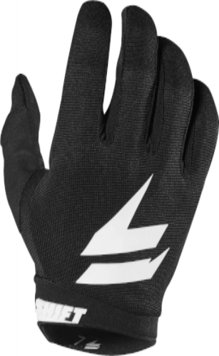 2019 Whit3 Air Youth Motocross Glove - Black