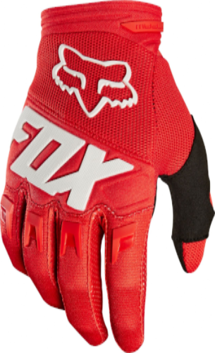 Fox Dirtpaw Race MX Glove - Red