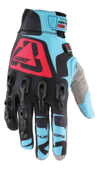 Leatt GPX 4.5 Lite Glove - Black/Blue/Red